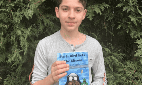 Американский школьник написал книгу про биткоин для подростков