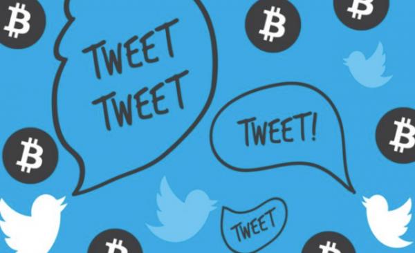 Пользователям Твиттера при создании сообщений теперь доступен символ биткоина