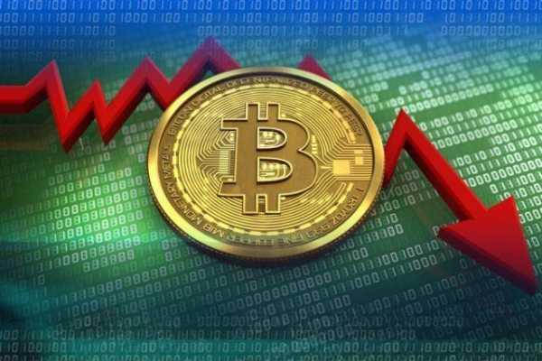 Объем транзакций в блокчейне биткоина продолжает падать