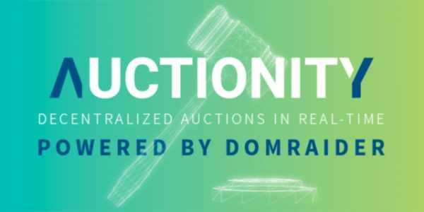 Осуществлен запуск первой версии приложения для аукционов Auctionity от проекта DomRaider