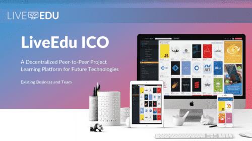 Онлайн-платформа для образования LiveEdu начинает токенсейл