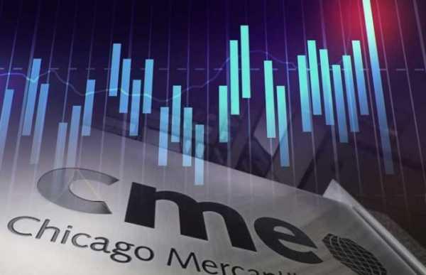 Объем торгов BTC-фьючерсами на CME превысил $100 млрд