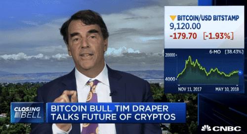 Тим Дрейпер назвал биткоин самым безопасным местом для вложения денег