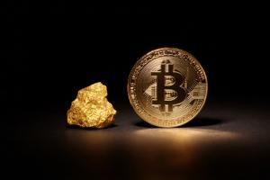 Биткоин впервые превзошёл золото по показателю роста с июня