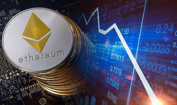 Перед падением цены Ethereum на биржи перевели 8170 ETH