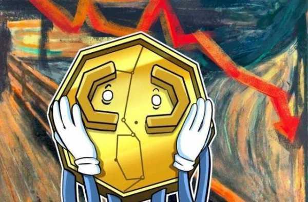 Цена биткоина упала ниже $7000, альткоины в красной зоне