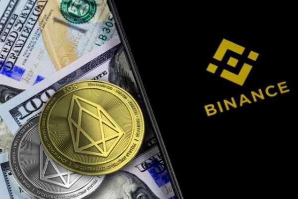 Binance провела делистинг токена EOS с платформы одноранговой торговли