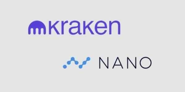 Информация о листинге Nano на биржу  Kraken толкает цену монеты вверх