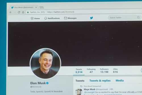 Илон Маск разместил загадочное сообщение с упоминанием биткоина в Twitter