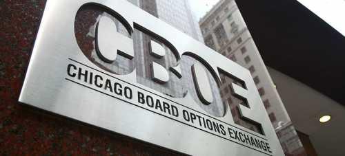 Биржа CBOE зафиксировала рекордный объем торгов биткойн-фьючерсами