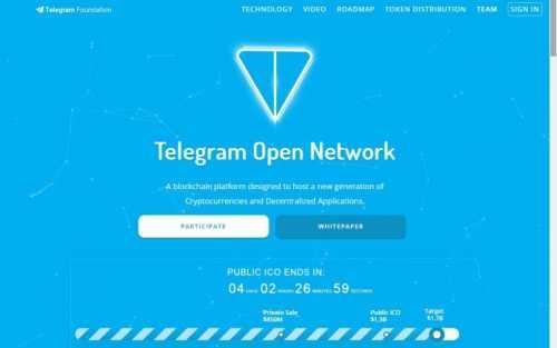 Мошенники собирают средства на публичный этап ICO Telegram