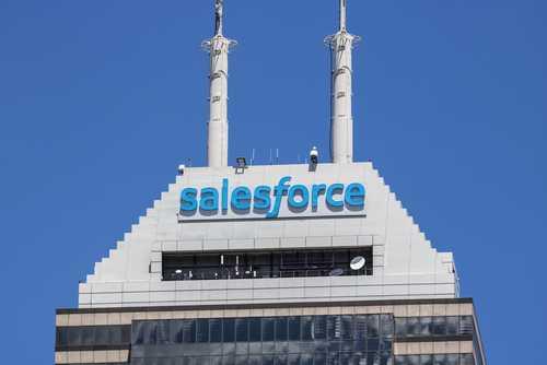 Разработчик облачного ПО Salesforce исследует возможности блокчейна