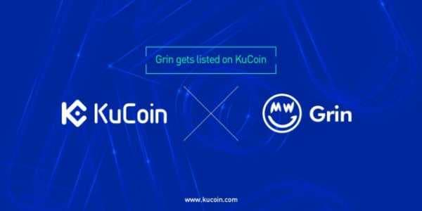 Биржа KuCoin объявилао листинге криптовалюты Grin