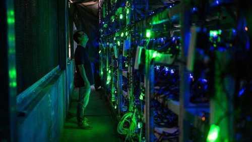 Китайская полиция конфисковала 600 компьютеров для майнинга биткойна