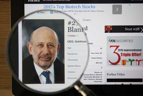 CEO Goldman Sachs: Биткоин – это не моё