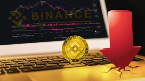 За два с половиной месяца Binance Coin упал в цене в два раза
