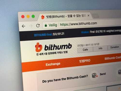 Биржа Bithumb возобновит ввод/вывод 10 криптовалют