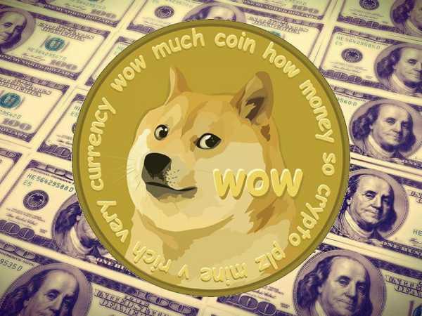 Dogecoin стремительно дешевеет после скачка на 187%