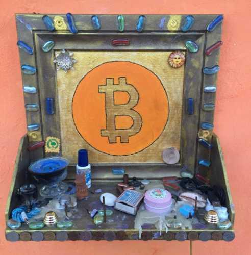 В Екатеринбурге обнаружен алтарь биткоина